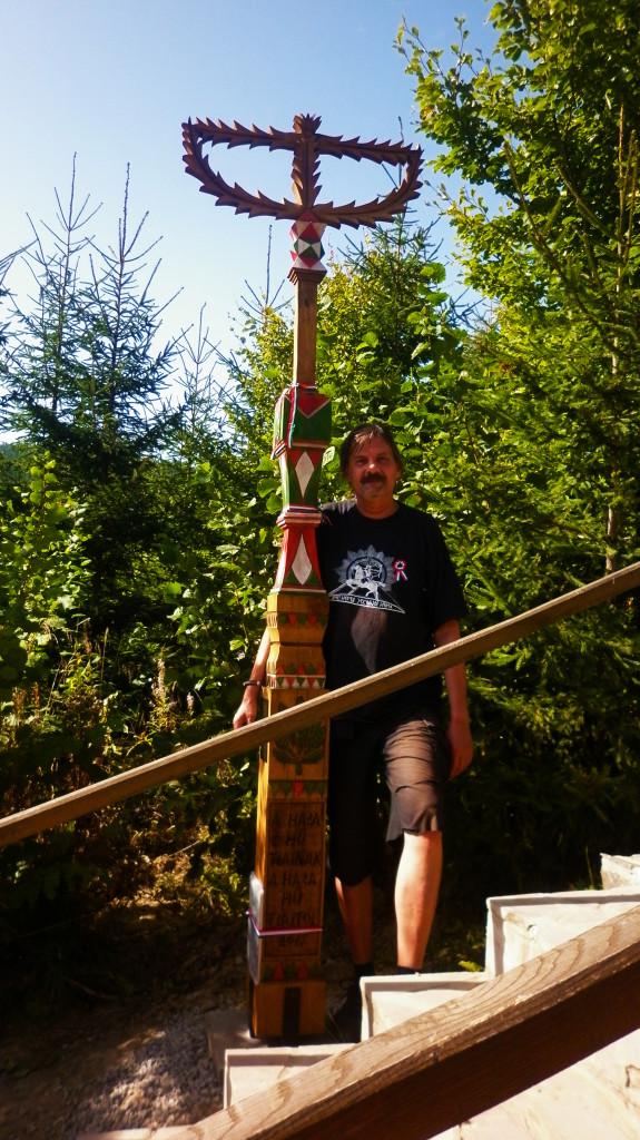 A kopjafa egyik támogatója: Kozma Endre